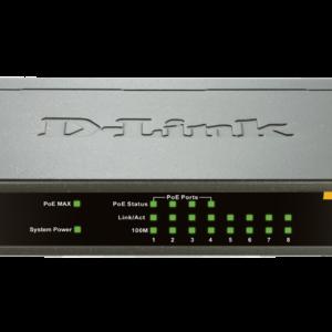 D-Link DES-1008PA 10/100 Unmanaged Desktop Switch