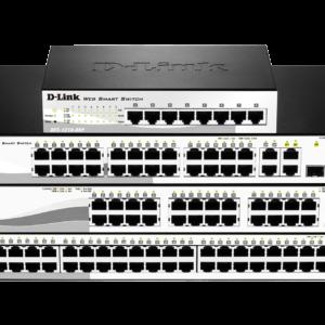 D-Link DES-1210-28P 10/100 Unmanaged Desktop Switch