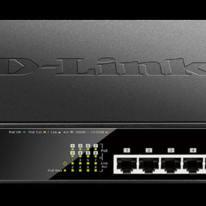 D-Link DGS-1008MP Gigabit Desktop Switch
