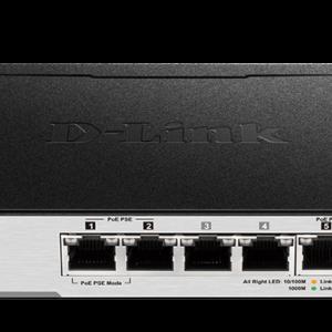 D-Link DGS-1100-05PD Gigabit Smart Managed Switch
